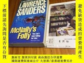 二手書博民逛書店英文原版罕見McNally s Folly : an archy