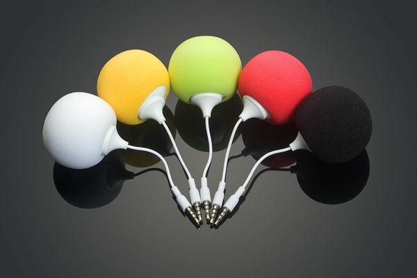 【現貨】小氣球造喇叭 迷你小喇叭 3.5mm耳機插孔皆可通用 麥克風造型喇叭 顏色隨機出貨