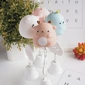 日式風鈴掛飾和風創意卡通可愛少女心房間臥室裝飾品鈴鐺掛件掛門 格蘭小鋪