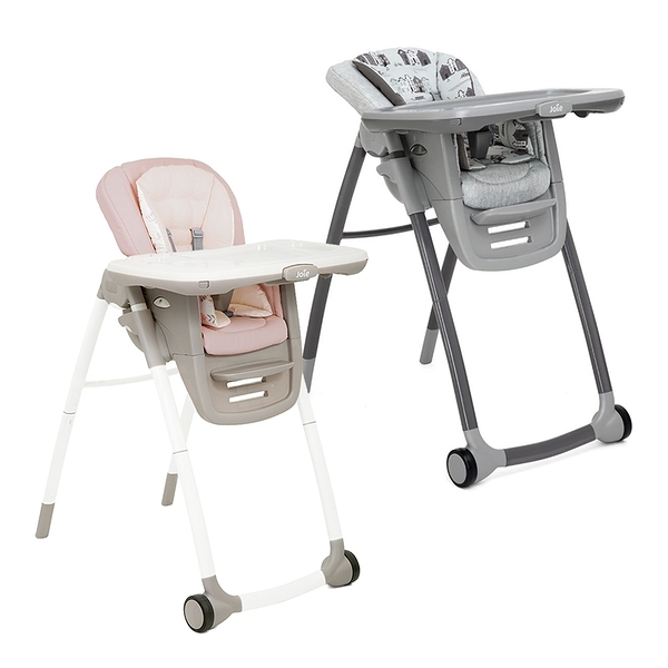 奇哥 Joie Multiply 6in1 成長型多用途餐椅 灰/粉