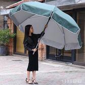 戶外遮陽傘擺攤傘沙灘傘太陽傘折疊傘廣告傘防雨防曬大號 KB5825 【VIKI菈菈】