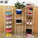 東爵多層鞋架簡易家用省空間門口小鞋柜立式窄架宿舍拖鞋收納架子 3C優購