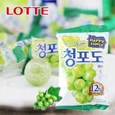 樂天人氣王 韓國 lotte 樂天 青葡萄糖果 153g 內含12%青葡萄汁 糖果 白葡萄糖 韓國糖果