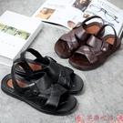 涼鞋2021涼鞋男夏季男士涼拖鞋防滑男涼鞋耐磨沙灘拖鞋舒適男拖鞋 芊墨 618大促