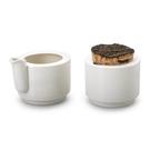 芬蘭 Tonfisk Cream Jug & Sugar Bowl , Warm 系列 糖罐&奶罐組