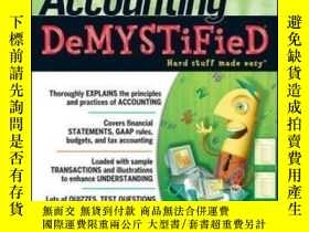 二手書博民逛書店Accounting罕見Demystified 2nd Edit