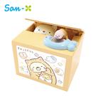 小貓款【日本正版】角落生物 偷錢箱 存錢筒 儲金箱 小費箱 角落小夥伴 San-X - 376718