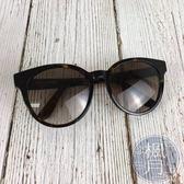 BRAND楓月 SAINT LAURENT YSL 琥珀 大框 半圓框 復古 墨鏡