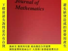 二手書博民逛書店Pacific罕見Journal of Mathematics