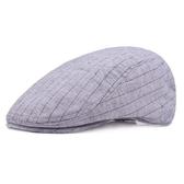 貝雷帽-夏季薄款條紋戶外男女鴨舌帽3色73tv215【巴黎精品】