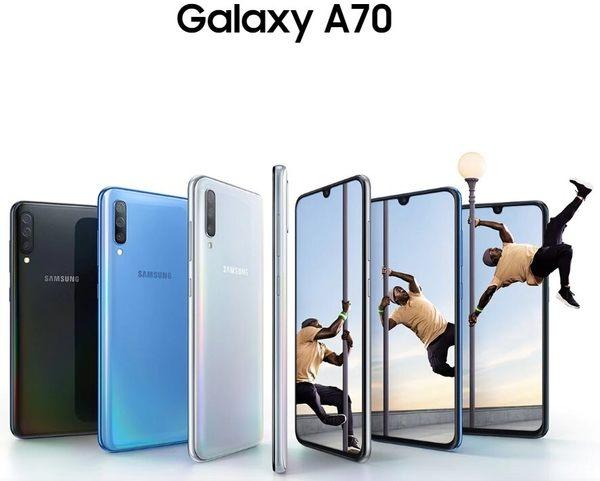送美拍握把 三星 SAMSUNG Galaxy A70 A705 6.7吋 6G/128G 4000mAh 指紋 3200萬畫素 雙卡 智慧型手機