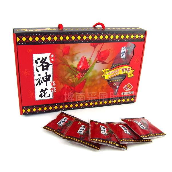 【台東地區農會】《台東紅寶石》洛神花蜜餞手提禮盒(30入)