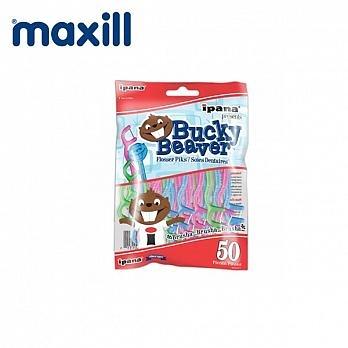 美適Maxill iPana兒童安全牙線棒(50入)
