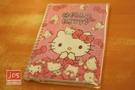 Hello Kitty 凱蒂貓 雷射線圈筆記本 方格內頁 蝴蝶結 953320