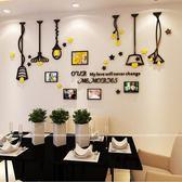 壁紙墻貼相框墻壁客廳臥室房間背景墻裝飾【極簡生活館】