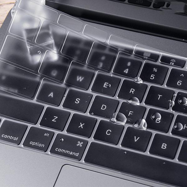 Touch觸控版 無觸控版 Macbook Pro 13吋 15吋 2016新版 鍵盤膜 高透防水 超薄透明 隱形 防污防塵 保護膜