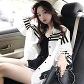 長袖襯衫 復古港味上衣韓版寬鬆白色襯衫女新款春裝設計感小眾洋氣襯衣 雙十二全館免運