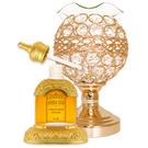 Rasasi拓荒者 玫瑰100%純精油香水 贈三段觸控黃晶水鑽開運薰香燈