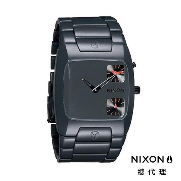 【官方旗艦店】NIXON BANKS 正裝裱 霧深藍 潮人裝備 潮人態度 禮物首選