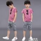 男童夏裝套裝小孩帥氣兩件套2020新款兒童裝男孩短袖夏天衣服洋氣 小艾時尚