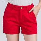21夏季百搭韓版彈力女短褲大碼顯瘦四分褲修身寬鬆牛仔短褲迷你 快速出貨