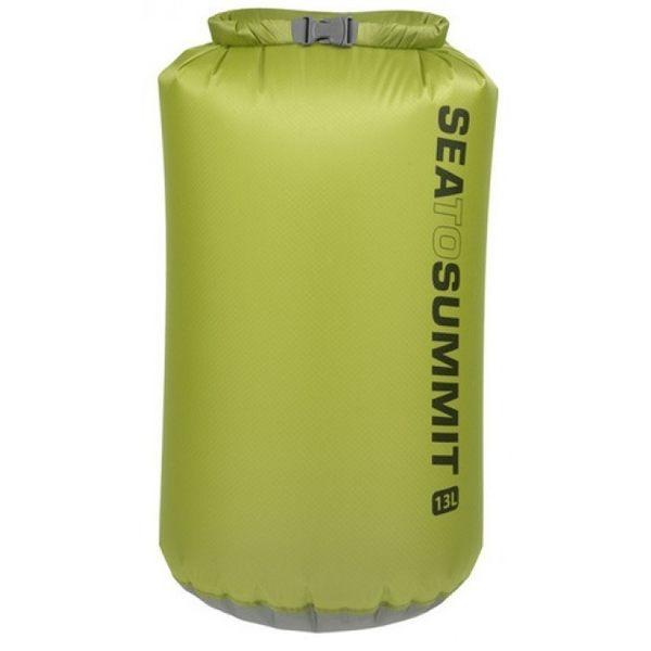 ╭OUTDOOR NICE╮澳洲 SEA TO SUMMIT 30D 輕量防水收納袋 13L 綠色 AUDS13 抗撕裂 防水袋 收納袋