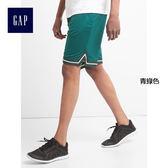 GapFit男裝 時尚休閒系帶運動短褲 226587-青綠色