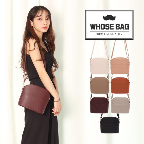 【WHOSE BAG】韓國嚴選Round迷你側背包 NO.LM228