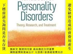 二手書博民逛書店Handbook罕見Of Personality Disorde