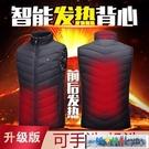 發熱外套 USB智慧恒溫電熱馬甲男背心女充電發熱保暖全身加熱衣服坎肩外套 城市部落