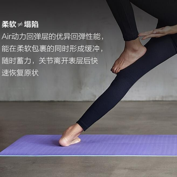 哈他防滑瑜伽墊 女初學者男健身加厚加寬加長tpe瑜珈墊子地墊家用YYJ 阿卡娜