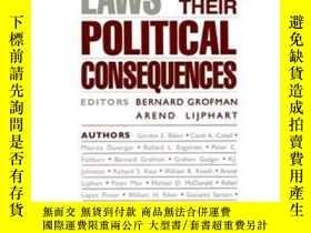 二手書博民逛書店Electoral罕見Laws And Their Political ConsequencesY364682