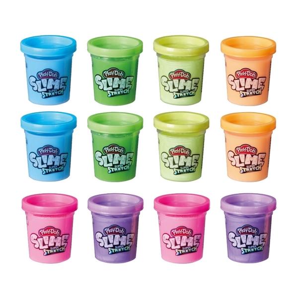 培樂多 超級長黏土 12罐組