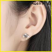 耳環-s925純銀耳釘女氣質日韓優雅四葉草小耳環韓國簡約個性防過敏耳飾
