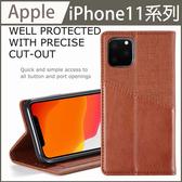 【經典布紋】iPhone 11 Pro Max 錢包皮套 皮夾 側翻 磁吸 質感手機套 支架卡槽 手機皮套 通勤族 i11