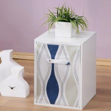 《Homelike》粉彩創意防塵置物櫃/收納櫃