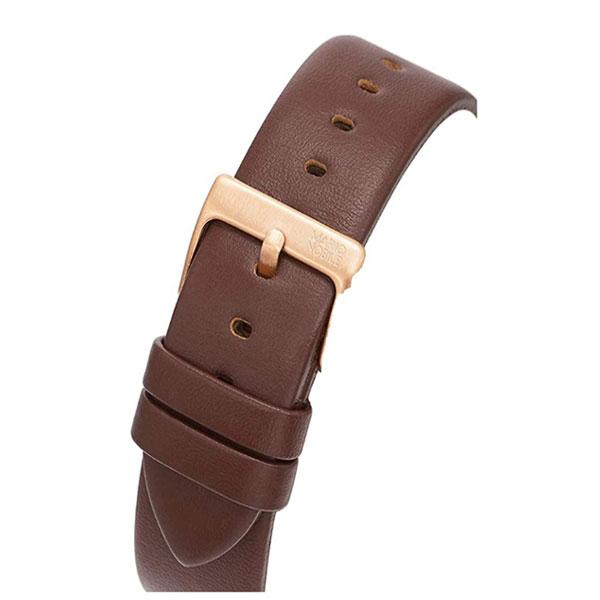 【台南 時代鐘錶 Klasse14】VO14RG002M 簡約三針時尚腕錶 咖啡/玫瑰金 42mm 公司貨保固兩年