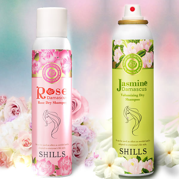 SHILLS 大馬士革玫瑰/頂級茉莉潔淨蓬鬆乾洗髮  180ml 兩款可選 【小紅帽美妝】