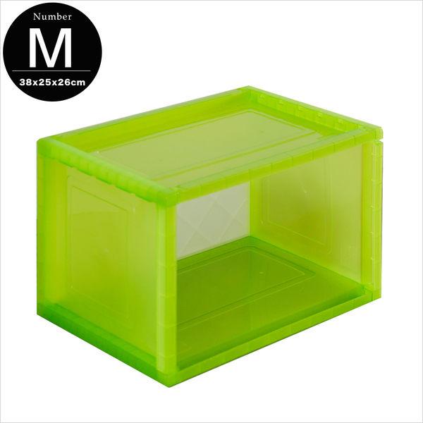 收納箱 塑膠櫃 收納櫃【R0086】巧拼收納箱(M)38x25x26cm 樹德MIT台灣製ac 完美主義