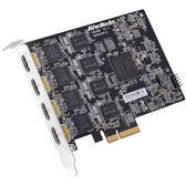 (客訂商品,請來電詢問) AverMeida 圓剛 4路 HDMI Full HD 高畫質 擷取卡 CE314-HN