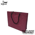 手提袋-編織袋(L)-黑桃紅-01C...
