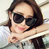 新款時尚款黑超大框圓形太陽眼鏡Eb13509『M&G大尺碼』