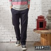【JEEP】經典復古休閒口袋長褲 (藍)