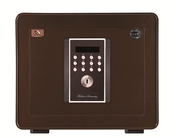 弘瀚科技@吉祥系列保險箱(35MWC)棕金庫/防盜/電子式密碼鎖/保險櫃