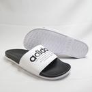 ADIDAS ADILETTE COMFORT 男女款 情侶鞋 拖鞋 FX4287 黑白 大尺碼【iSport愛運動】