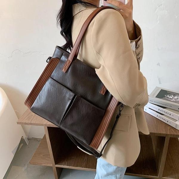 法國小眾包包女包新款潮時尚側背腋下包大學生上課斜背托特包