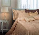 【金‧安德森】經典緹花《吉莉》被單枕套三件組 (標準雙人)