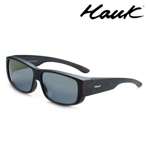 HAWK偏光太陽套鏡(眼鏡族專用)HK1003-63