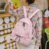 日系書包女韓版新款lolita書包防水小清新閨蜜簡約校園後背包