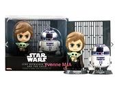 *Yvonne MJA* 美國迪士尼 限定正品 星際大戰 盧克·天行者、R2-D2 尤達寶寶 模型玩具